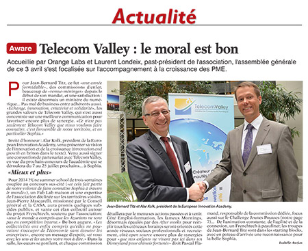 Vendredi 4 avril 2014 - Tribune Bulletin Côte d'Azur
